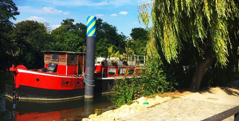 Bateau sur la Seine à l'Île Saint-Germain, à voir en famille