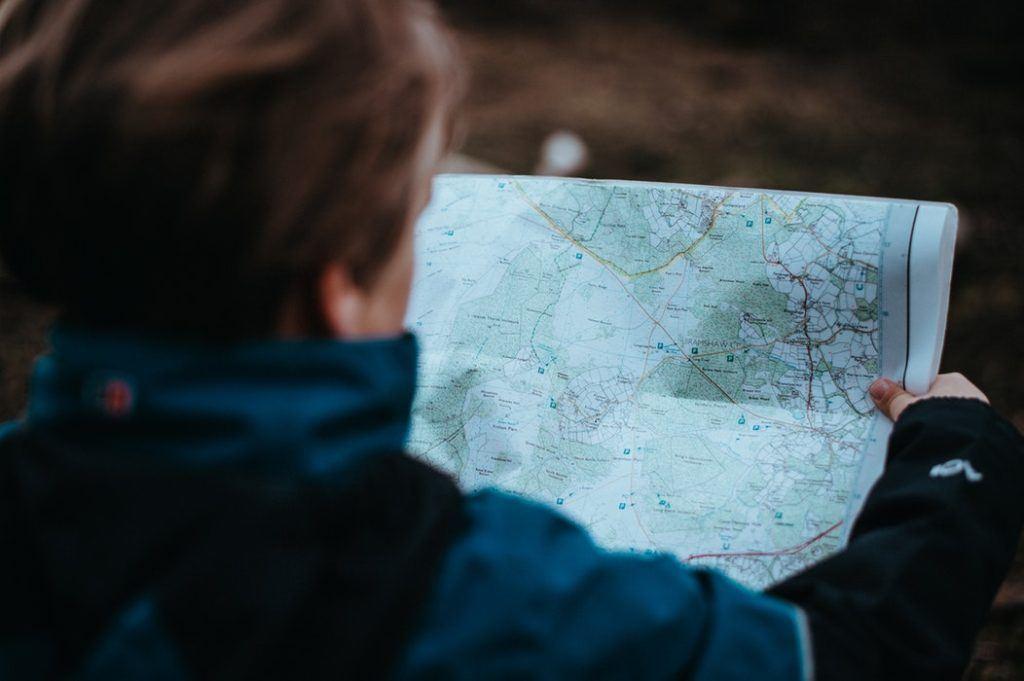 Balade, randonnée, Paris, carte, orientation en pleine nature, course d'orientation