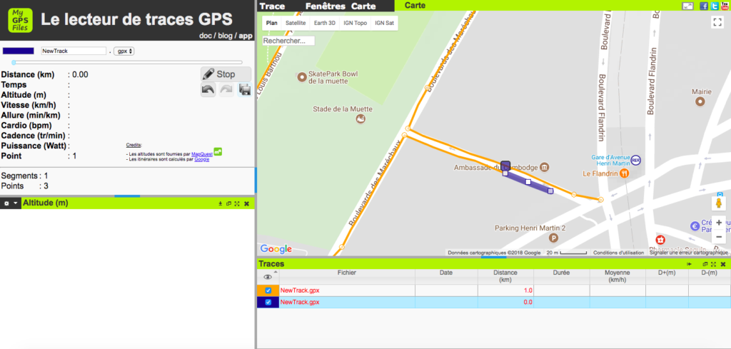 How to create a GPS file, for free - En Nature Simone