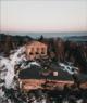 Rando Vosges Temple sur montagne